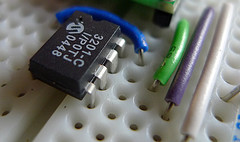 MC3201 ADC being used with SPI