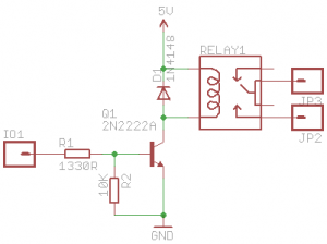 Relay Board for Heater Element Control